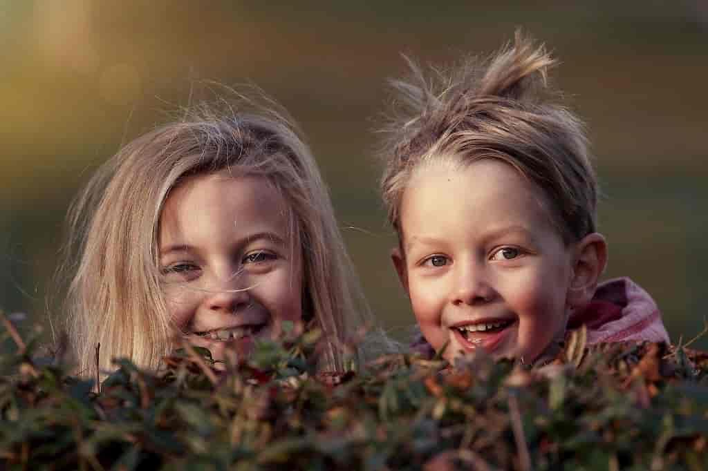 счастливые дети